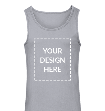 personalised tank-top